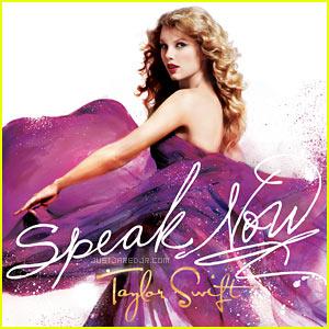 "Taylor Swift's ""Speak Now"" Album Cover"